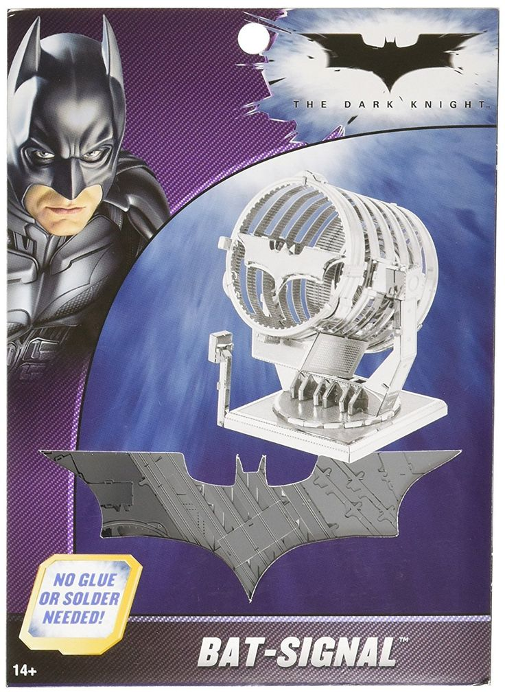 Metal Earth Batman Bat-Signal 3D Metal Model Kit