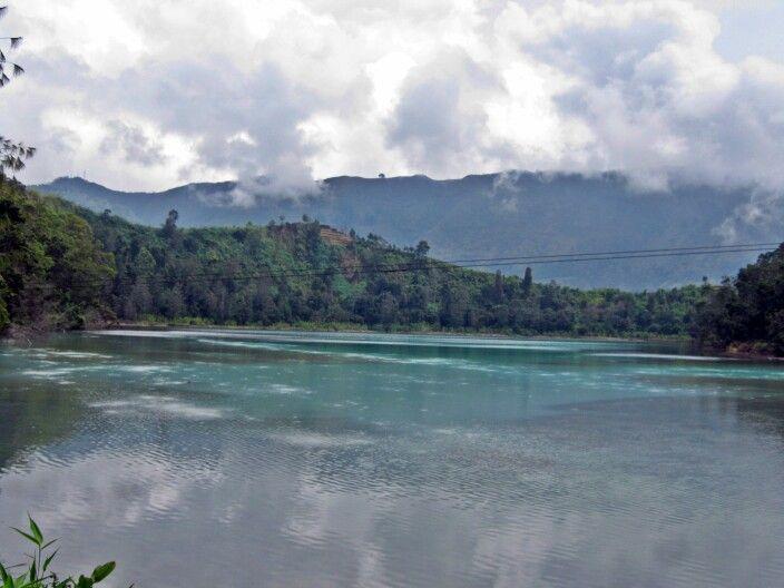 Telaga Warna - Dieng, Indonesia. @wonderfulIndonesia