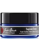 Jack Black Supreme Cream Triple Cushion Shave Supreme Cream creates a rich, thick luxurious lather to lift hair up and away from the skin for the ultimate smooth and close shave. Triple Cushion Technology, with ultra-nourishing and hydrating Maca http://www.MightGet.com/january-2017-12/jack-black-supreme-cream-triple-cushion-shave.asp