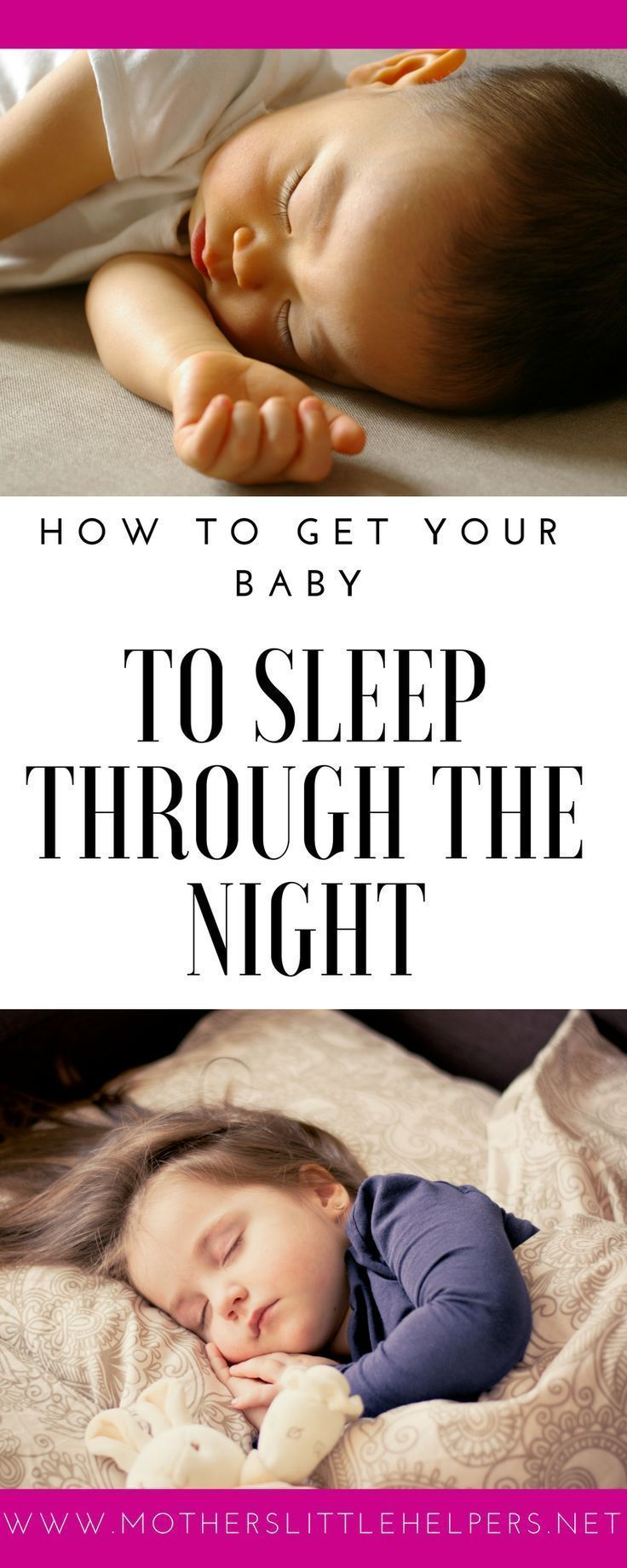 0fd1a8f2e How to Get Your Baby to Sleep Through the Night