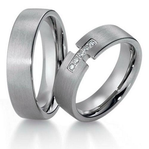 titanium matching wedding bands