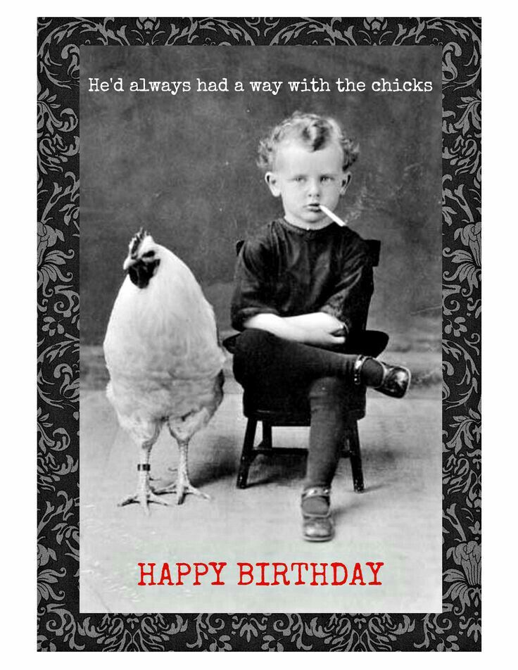Happy Birthday Old Man Meme Funny : He d always had a way with chicks lol funny pinterest