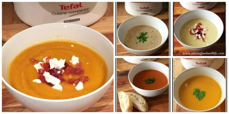 These are my 6 favourite soup recipes all developed for the Tefal Cuisine Companion. Some of these I originally created in the Thermomix which are still available Here and I have created a few new …