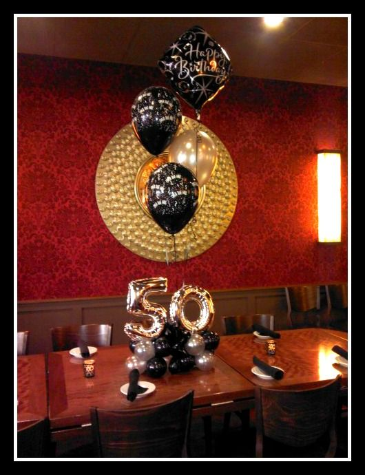 25 best ideas about 50th birthday centerpieces on for 50th birthday decoration ideas for men