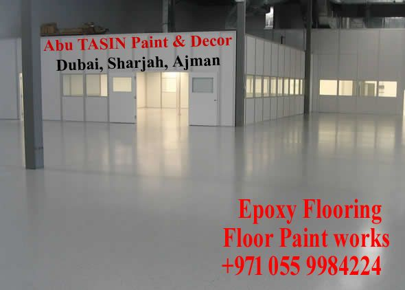 Pin By Tasinuae On Epoxy Flooring Works Company Ajman Dubai Sharjah Uae Epoxy Floor Epoxy Floor Paint Painted Floors