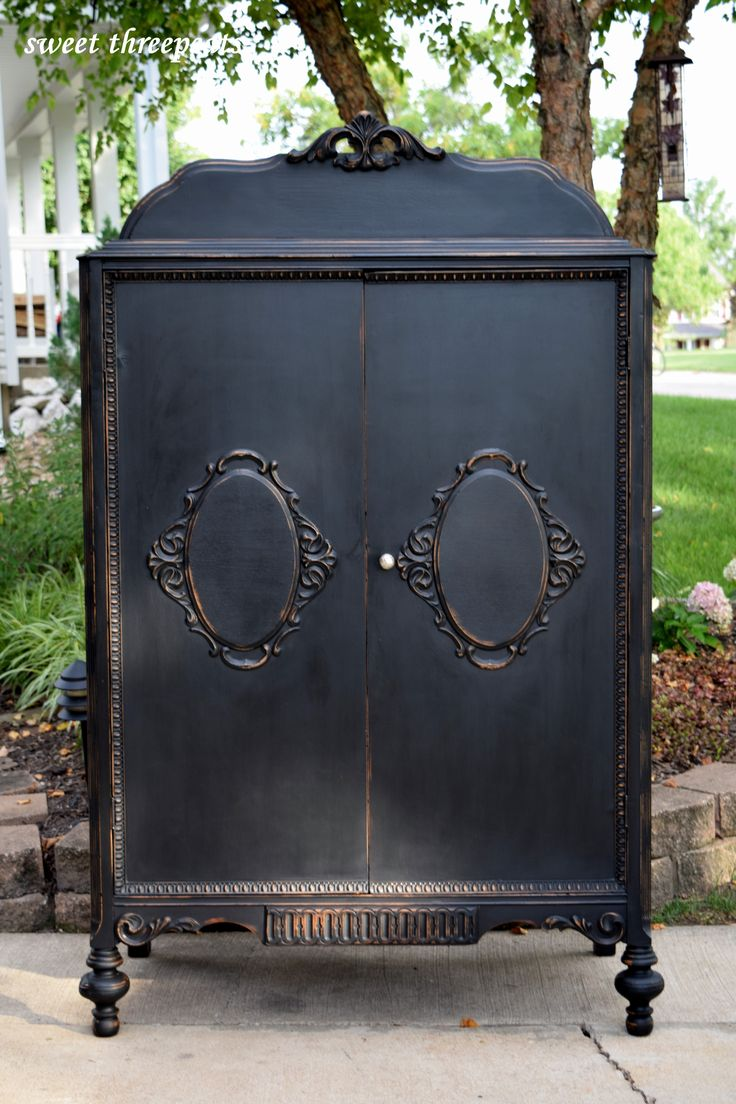 Painting furniture black ideas - Find This Pin And More On Black Ideas For Painted Furniture