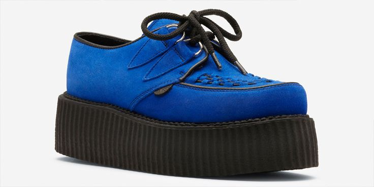 Underground | Double Sole Creepers | England,Shoes,Underground Shoes,Brothel Creepers,Punk,TUK