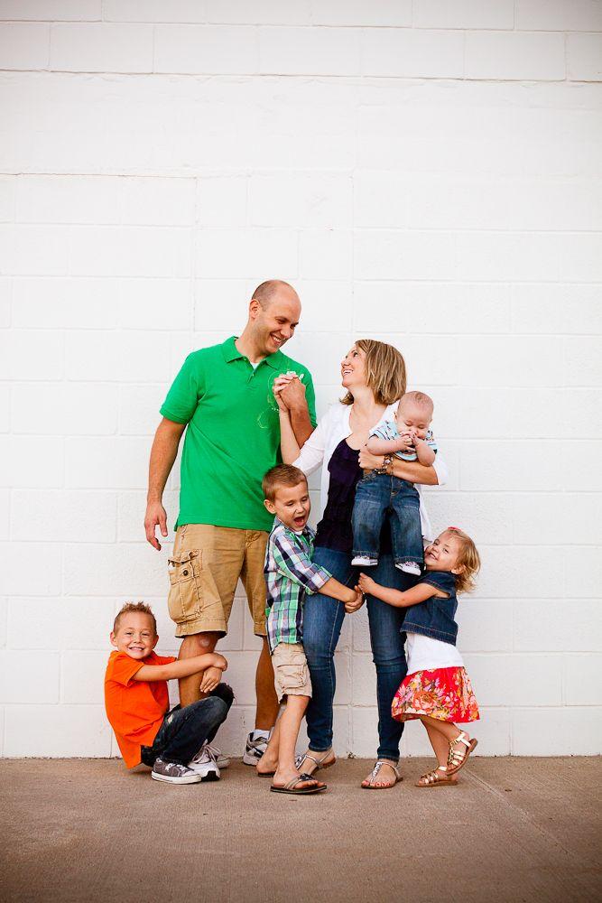 I love this family photo!