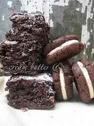 oFreos & chocolate macadamia brownies