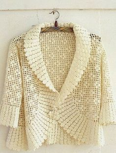 Crochet vest with sleeves ♥️LCT-MRS♥️ with diagrams.
