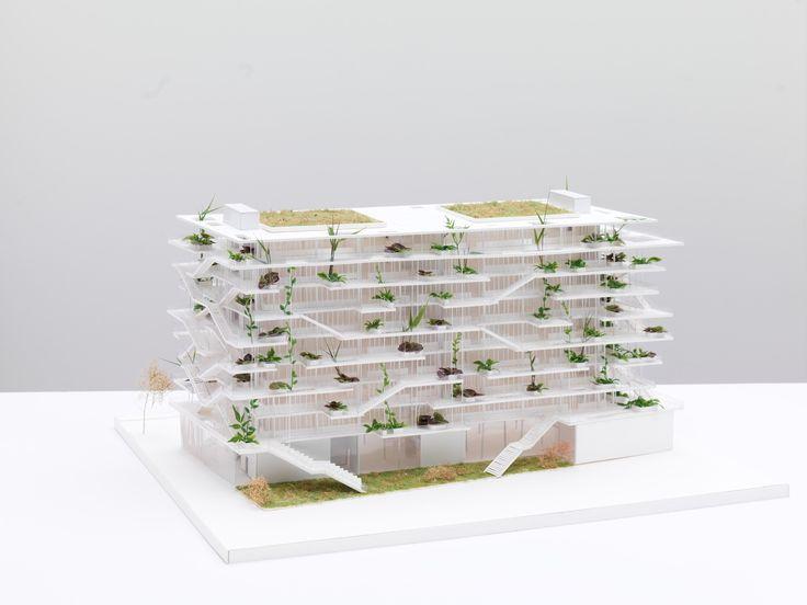 Galería - NL*A presenta imágenes de nuevo proyecto verde en Francia - 6