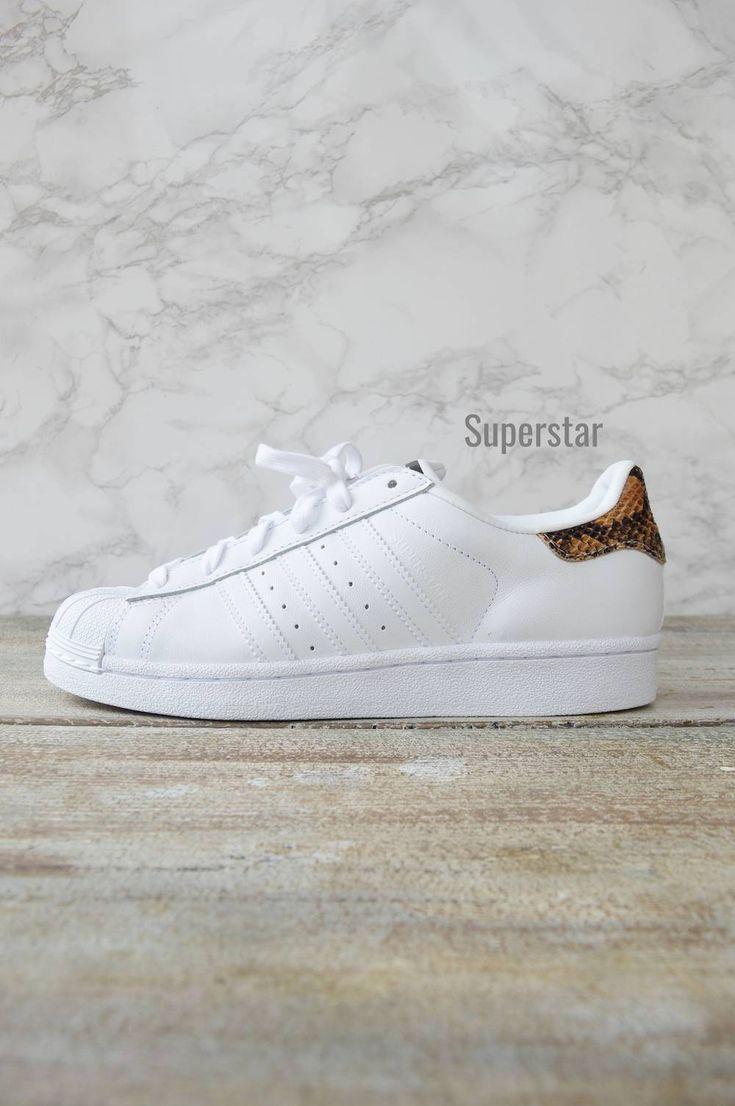 Superstar sneakers python Mais je vais peut etre avoir des superstar toute blanche