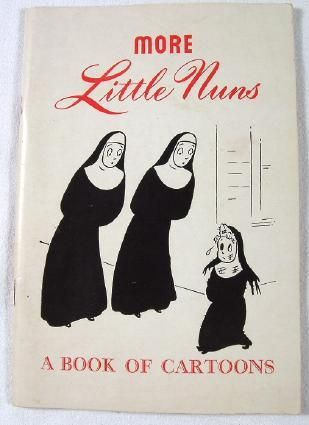 Joe Lanes first collection of nun cartoons from Extension