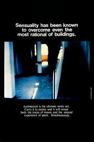bernard tschumi, advertisements for architecture, 1976-1977