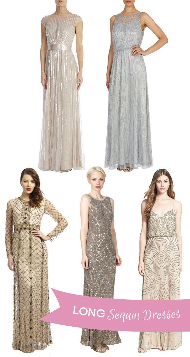 Sparkle and Shine - Glitzy Sequin Bridesmaids' Dresses