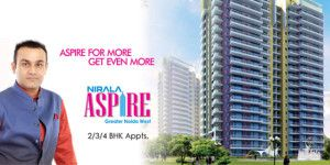 Nirala Aspire Phase 2 is very excellent and rooms are clear and give you a close valley view. You will enjoy the comfortable and relaxing living just like as a hill. Most of the towers have already been constructed and offers highly designed flats.