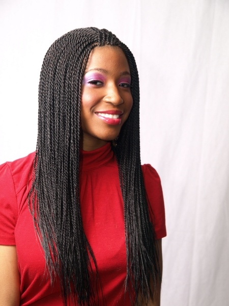 Senegalese braids- think I like this one the best