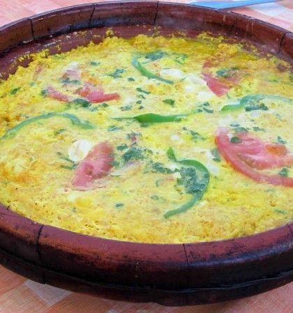 Receta de Tortilla Bereber