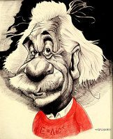 Einstein Caricature Ballpoint pen