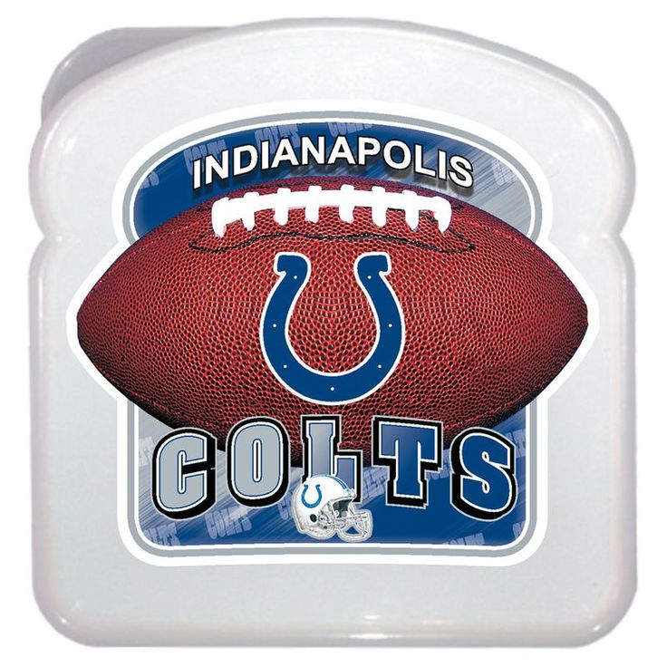 Indianapolis Colts 3D Sandwich Container