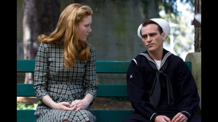 Joaquin Phoenix and Madiden Beaty in 'The Master' of Paul Thomas Anderson, 2012