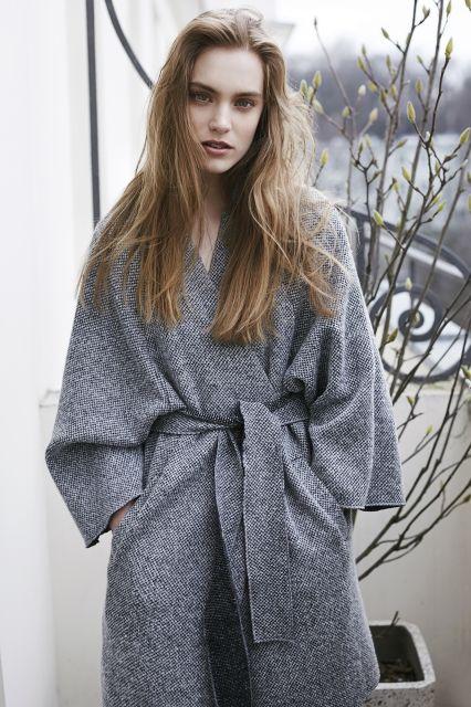 Sweter kimono