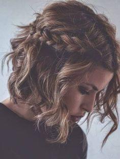 23 Magnifiques Tresses Sur Cheveux Courts   Coiffure simple et facile