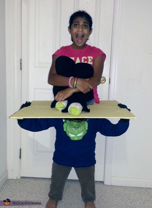 Frankenstein's Bounty- scream. Frankenstein's Bounty - Homemade costumes for kids.