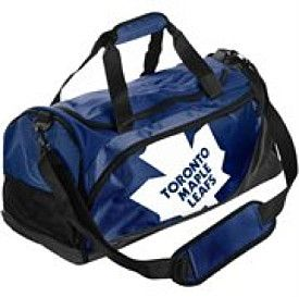 Forever Collectibles Toronto Maple Leafs Small Locker Room Duffle Bag - Shop.Canada.NHL.com