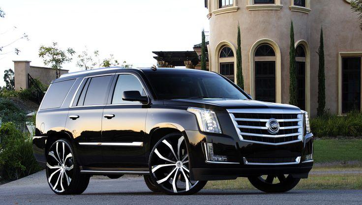 Lexani Wheels, the leader in custom luxury wheels.  Lust on the 2015 Cadillac Escalade.