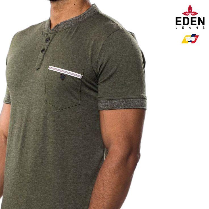Camiseta tipo polo basic