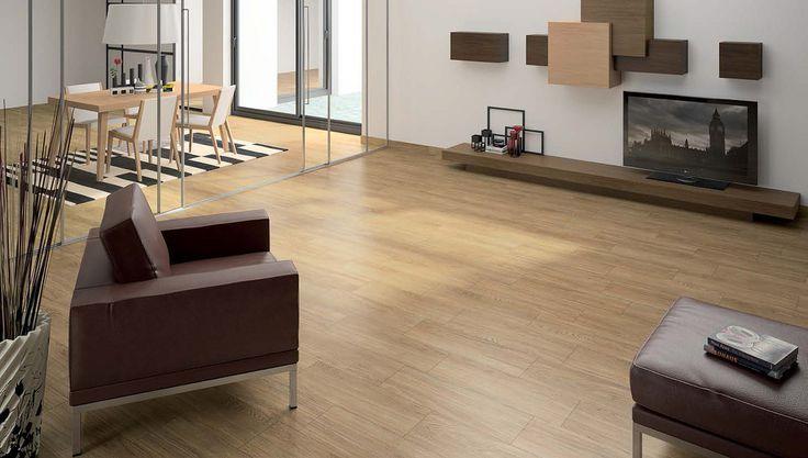 La cer mica con apariencia de madera pavimento - Pavimento ceramico imitacion madera ...