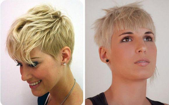 Модельные стрижки на короткие волосы женские в 2017 году