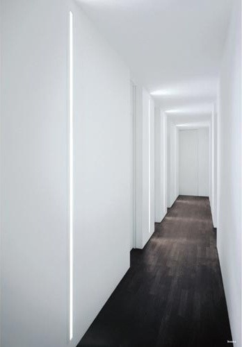 Ribbons of light- David Chipperfield fluorescent lamps