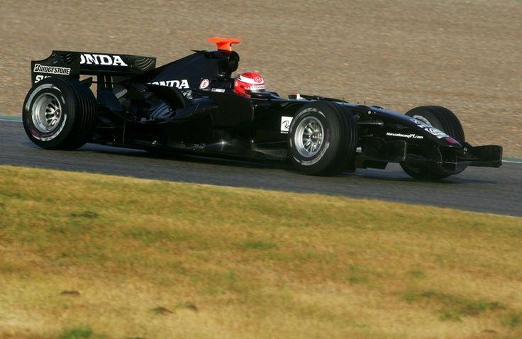 James Rossiter (GBR) Honda. Formula One Testing, January 2007
