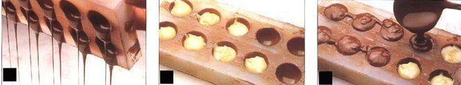 Curso de Chocolate Passo a Passo - Bombons Recheados