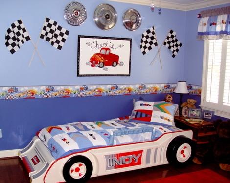 Best 25+ Race Car Room ideas on Pinterest   Boys car bedroom, Race ...