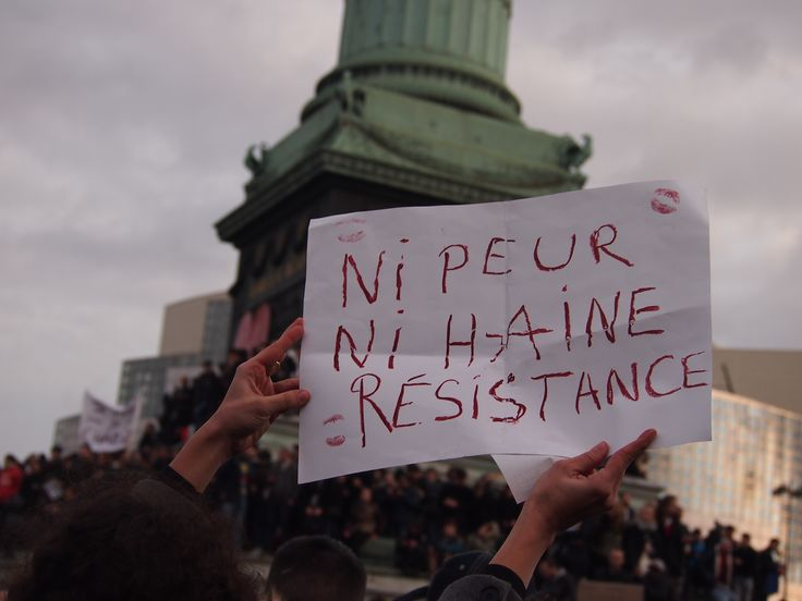 #nipeurnihaine #resistance #jesuischarlie pic by a.vannoorenberghe