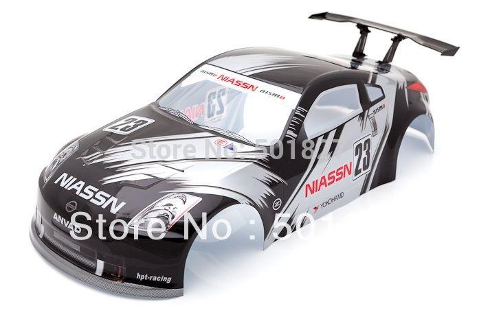 22.42$  Buy now - http://alirnw.shopchina.info/1/go.php?t=1252043760 - YUKALA rc parts 1/10 PVC Painted shell  body for 1:10  rc car  190mm 006 black  free shipping  #SHOPPING