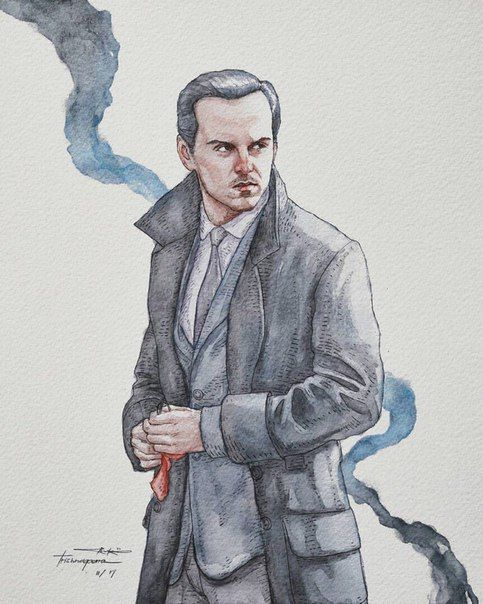Jim Moriarty Fanart...
