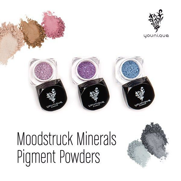 Our bestselling Moodstruck Minerals Pigment Powder are perfect little stocking stuffers!  There are 34 versatile luxurious shadows in both shimmer and matte finishes.  What are you favorite pigment colors?