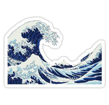 The Big Wave | Sticker