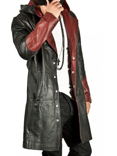d3ccb9c98 Devil May Cry Dante Leather Hoodie Coat
