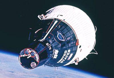 Gemini Spacecraft...prettiest spacecraft we ever made...it looks like it belongs in space...