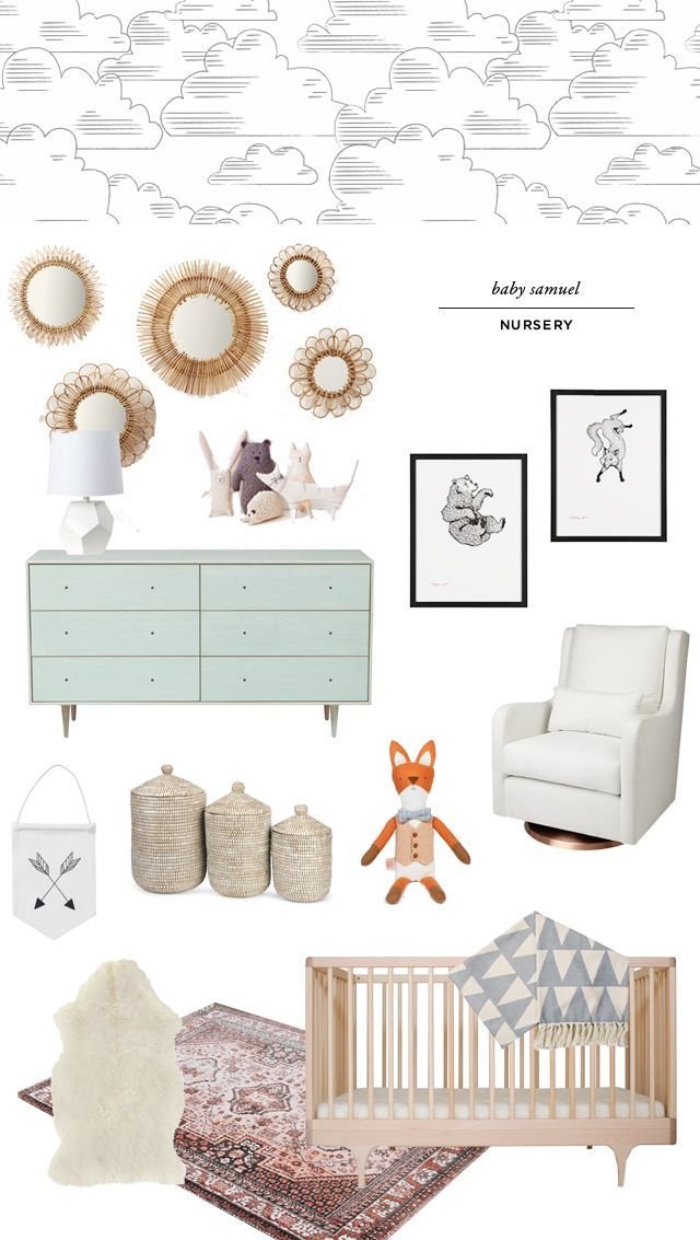 gender neutral nursery for baby samuel smitten studio