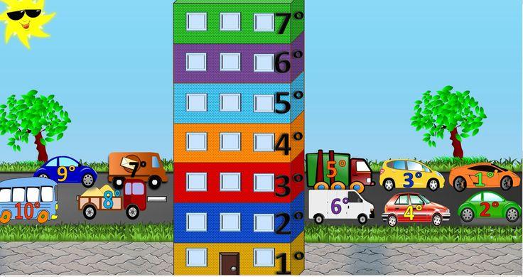 Este es un vídeo que se podría utilizar en clase para enseñar a los niños/as los números cardunales