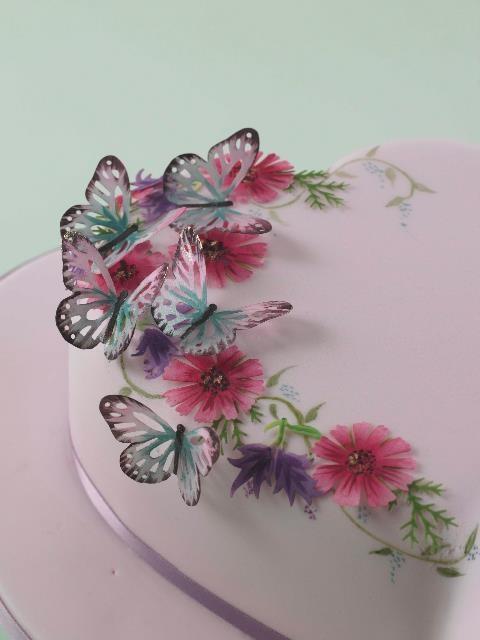 Sugarcraft Orchid Vase Birthday Cakes