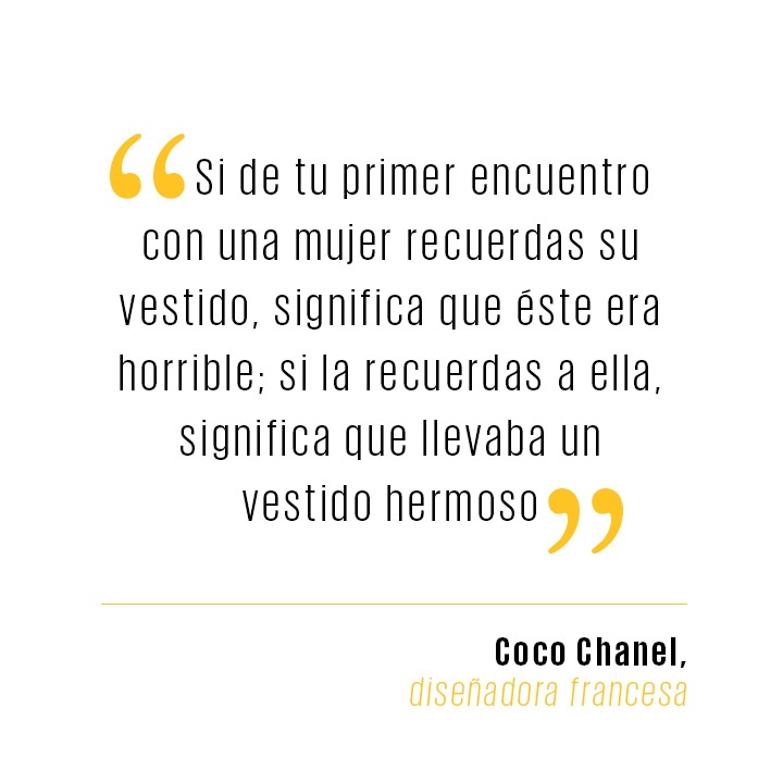Coco Chanel. - El Palacio de Hierro