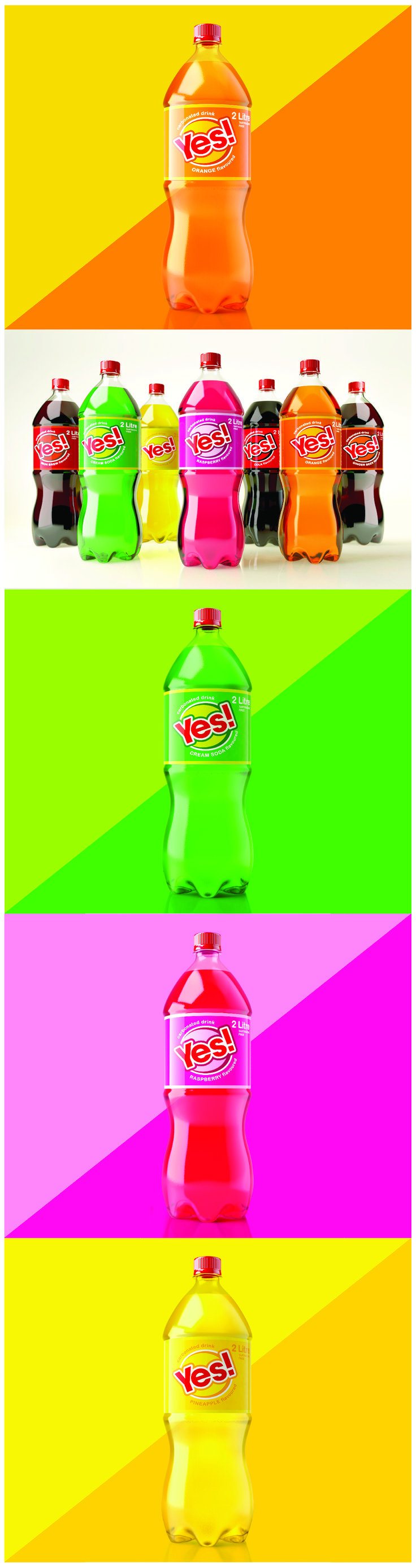 Yes Carbonated Soft Drinks