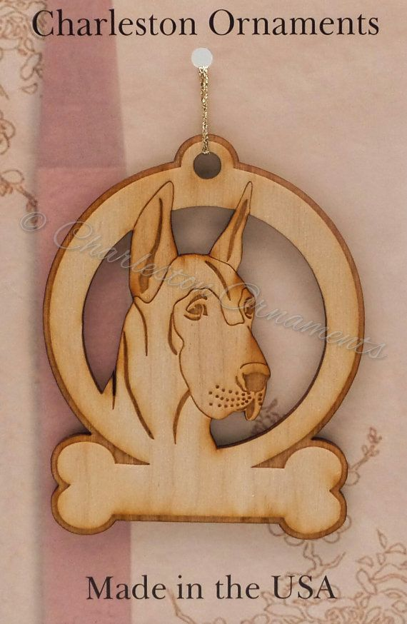 Great Dane Ornament - Great Dane Gifts - Great Dane Memorial - Great Dane Art - Great Dane Lover - Great Dane Ornaments - Personalized Free